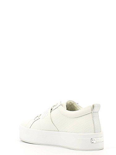 Guess Flfhe2 Lea12 Sneaker Damen Bianco