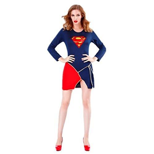 Superman Und Seine Freundin Kostüm - YyiHan Halloween Kostüm, Adult Superheld Kleidung
