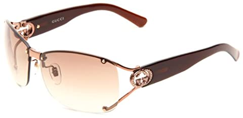 Gucci Gg 2820/F/S 0Vtc Shiny Brown Sunglasses