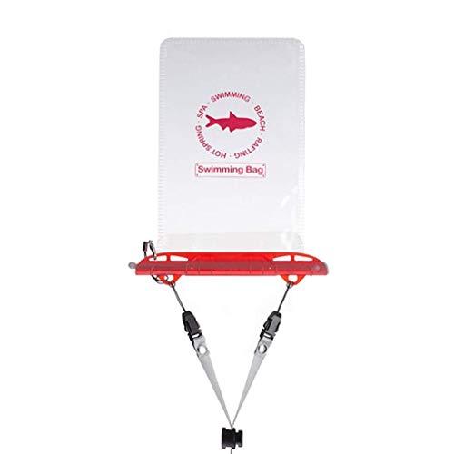 LMCLJJ Wasserdichter Telefonkasten Universeller wasserdichter Beutel Packsack mit Umhängeband Leuchtverzierung for Wasserspiele Schützen Sie das iPhone X 8 7 6 6s Plus 5s mit einem Umhängeband