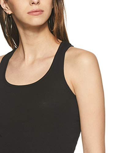 Jockey Women's Cotton Tank Top (1467-0110-BLACK-L)