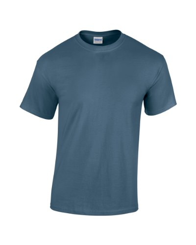 GILDAN -T-shirt  Uomo-Donna Blu - Indigo Blau
