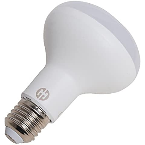 THG 10x ahorro de energ¨ªa de 10W regulable R80 Reflector las bombillas del punto E27 Blanco caliente 840lm