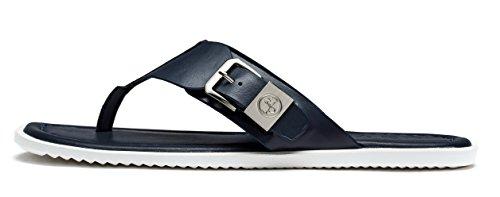 OPP Uomo Causal Pelle Pantofole Sandali Blu