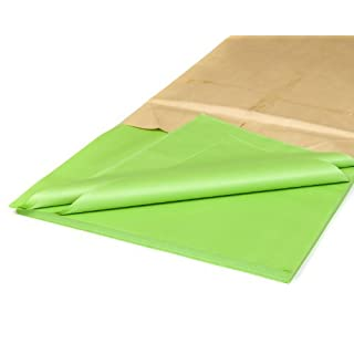 25 Luxury Sheets Acid Free Apple Green Tissue Paper 18