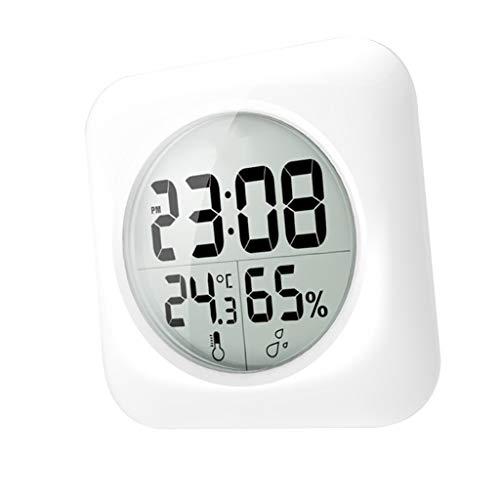 FLAMEER Wasserdichtes Thermometer Temperaturanzeige Digital Geräte mit Metallgehäuse