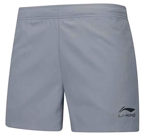 Li Ning Herren Badminton-Shorts AAPP075 Atmungsaktiv weich Fitness Komfort Sport Shorts - Grau - Mittel - Analyse Business Modell