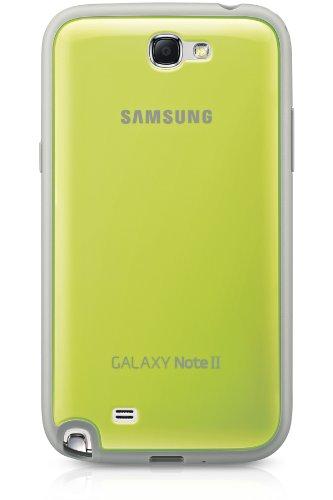 Samsung EFC-1J9BGEGSTD Protective Cover per Galaxy Note 2, Verde