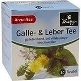 Kneipp Tee Galle und Leber Filterbeutel 10 stk