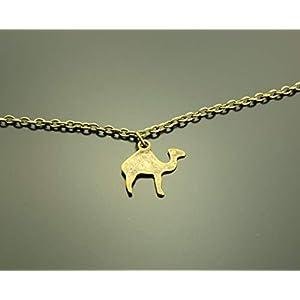 Armreifen Kamel Dromedar Wüste Armband Armkette bronze Juvelato