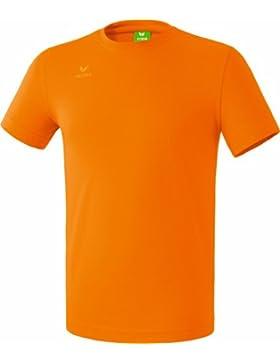 Erima GmbH Teamsport Camiseta, Unisex niños, Naranja, 128