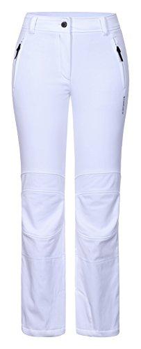ICEPEAK Damen Outi Softshell Hose, Weiß, 38.0 (Damen Hosen Weiße)