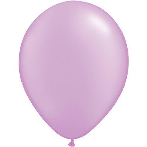 partydiscount24 10 x Luftballons Ø 30 cm | Freie Farbauswahl | 23 Ballon Farben Flieder (Lavendel)