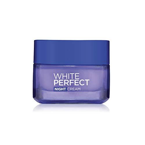 L'oreal Paris White Perfect Transparent Rosy Whitening Night Cream Size: 50 Ml. (1.7 Oz)