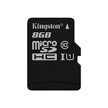 Kingston SDC10G2/8GBSP - Tarjeta microSD de 8GB (Clase 10 UHS-I ...
