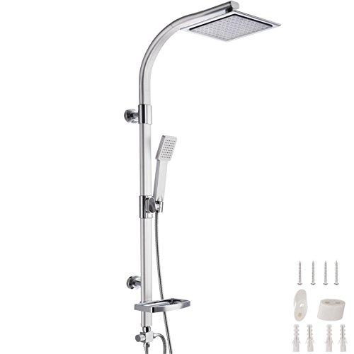 TecTake Système de douche à effet pluie et douchette...