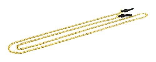 Edison & King Brillenband - Brillenkette aus Aluminium in verschiedenen Farben und im Gliederketten-Design (Gold)