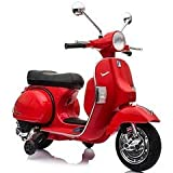 Moto Elettrica Lamas Toys Vespa PX Rosso