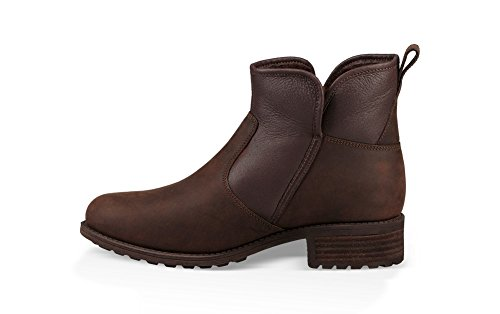 UGG Australia Womens Lavelle Leather Boots Stout