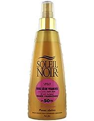 Soleil Noir Huile Sèche Vitaminée SPF 50 Spray 150 ml