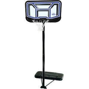 Lifetime à Vie Unisexe Rationaliser incassable Système de Basket-Ball Portable, Noir, Medium