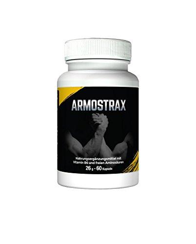 Armostrax - Extremer Muskelaufbau und Fettverlust. Schneller Fettabbau und extreme Muskelaufbau dank unserer einzigartigen, potenten Formel. | Erhöhte Kraft und Leistungsvermögen in kürzester Zeit. ! Mehr Muskelmasse, Kraft, Vitalität und Ausdauer.