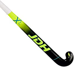 JDH X1 Low Bow Hockey Stick (2018/19) - 37.5 inch Vivid Yellow