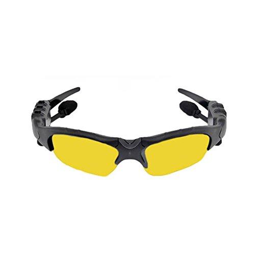 YAN Bluetooth Kopfhörer 4.1 Ohrstöpsel in-Ear-Style Stereo Hören Sie Den Song Wireless Sport Polarisierte Sonnenbrille (Style : 4)