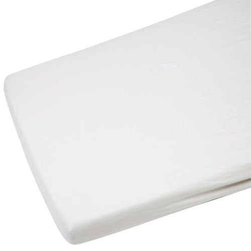 2x-cot-bed-100-cotton-fitted-sheet-white
