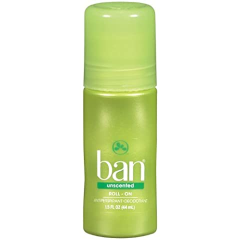 Ban Original Roll-On Antiperspirant Deodorant, Unscented, 1.5 Ounces by Ban