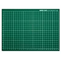"""Morn Sun Flexible Cutting Mat A/3 Size With Marked Pattern And Grids (18"""" X 12""""), Green"""