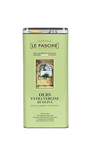 Le Fascine Natives Olivenöl Extra Virgin Extravirgin 100{04e3346983a5bd27ac22864858bef447ccacea312c154b2ae6c87ec1cbea5ddb} Italienisch 5l (5 Liters) Olio Extravergine D\'Oliva 100{04e3346983a5bd27ac22864858bef447ccacea312c154b2ae6c87ec1cbea5ddb} Italiano