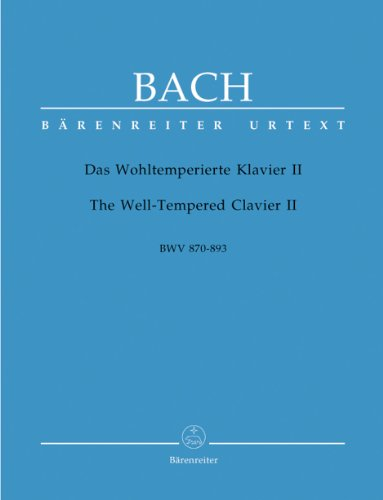 Wohlt.Klav. II Bwv870-893 - Piano