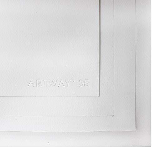 Artway - Aquarellpapier - Größe A1-20 Blatt