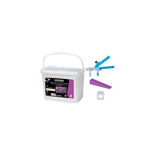 sidamo-kit-pince-100-cales-1000-croisillons-1mm-auto-nivelants-en-seau-11200041-sidamo