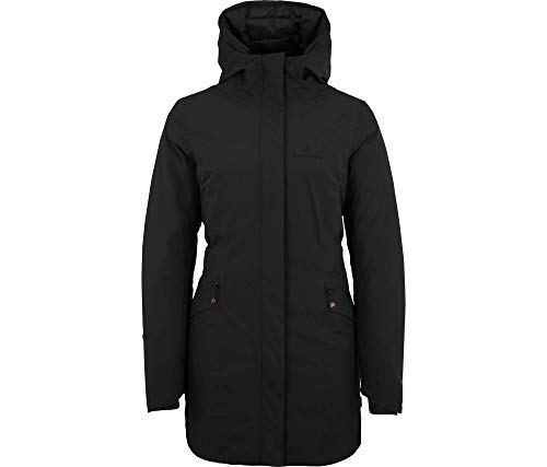 Bergson Damen Funktions- Wintermantel JUSI, Black [900], 38 - Damen