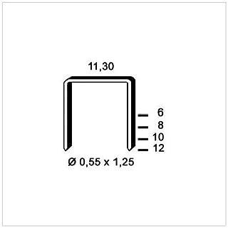 alsafix–5,000Staples Galvanised PB-0611.3x 6x 0.55x 1.25mm 6pb061D.–alsafix