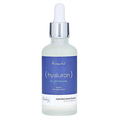 Rosental Organics Hyaluron Serum extra hochdosiert, bio Anti Aging Hyaluronsäure,...