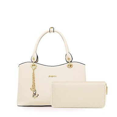 Le donne della moda Classic Crossbody Bag,Beige Ruby