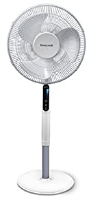 Honeywell HSF600WE Advanced Quietset Oscillating Stand Fan with Noise Reduction Technology