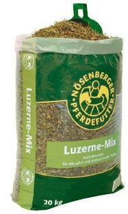 Erba medica Mix Noesenberger Cereali per cavalli senza Avena - Misura: 15kg