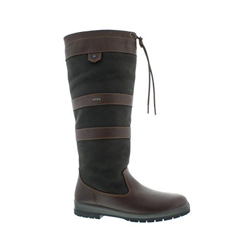 Dubarry Galway, Extra Fit (extraweit), Black / Brown 3931-12 Black / Brown