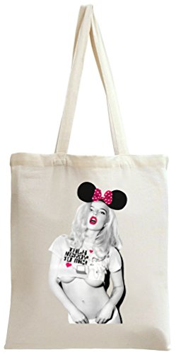 Sexy Hot Blonde Girl Tote Bag