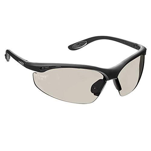 voltX 'Constructor' Wraparound Sicherheitsbrillen/Radsport Sportbrillen (VERSPIEGELT Keine Vergrößerung) CE EN166F Zertifiziert, Anti-Fog und Anti-Kratzer, Klasse 1 UV-Schutz/Safety Glasses