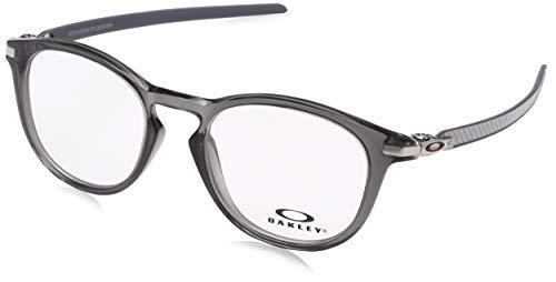 Ray-Ban Herren 0OX8149 Brillengestelle, Braun (Polished Grey Smoke), 50