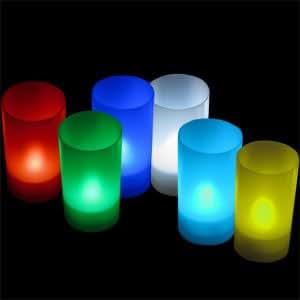 daffodil lec006 6 led kerzen elektrische teelichter. Black Bedroom Furniture Sets. Home Design Ideas