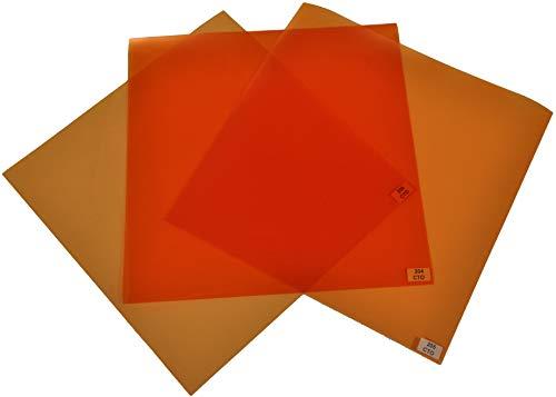 Filterset Farbkorrektur von Tageslicht nach Glühlicht CTO 24x24cm