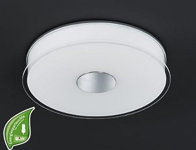 Deckenlampe Java Wofi Energiespar 9211.01.06.0000 Glas Leuchte