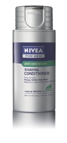 Philips Norelco(R) HS800/14 Nivea for Men Anti Irritation Shaving Conditioner Single Pack Philips N by NORELCO [Beauty] (English Manual) (Norelco Conditioner)
