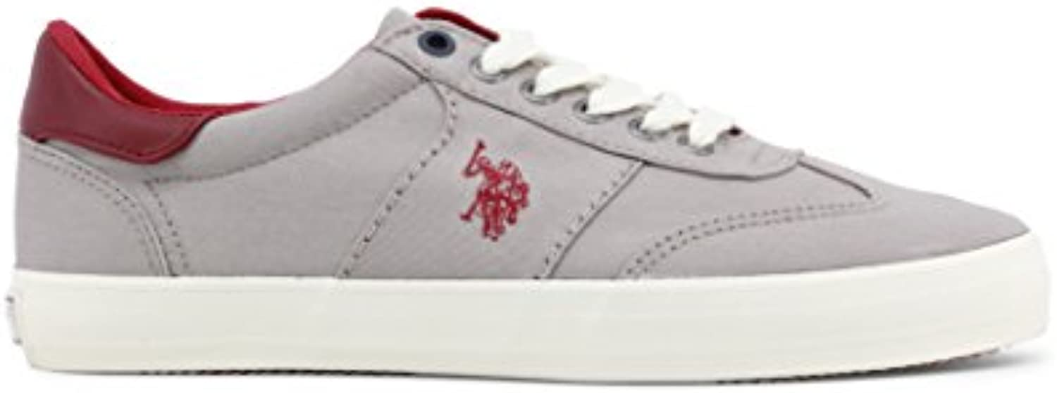 U.S.POLO ASSN. U.S. Polo   MARCS4146S8_C1   MARCS4146S8_C1_Grey   Gray DarkRed